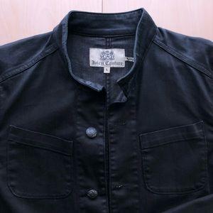 Men's black denim jacket (LIKE NEW) MAKE AN OFFER